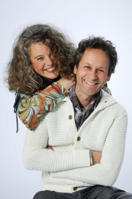 Wij zijn Arjen Houterman en Judith Flapper.